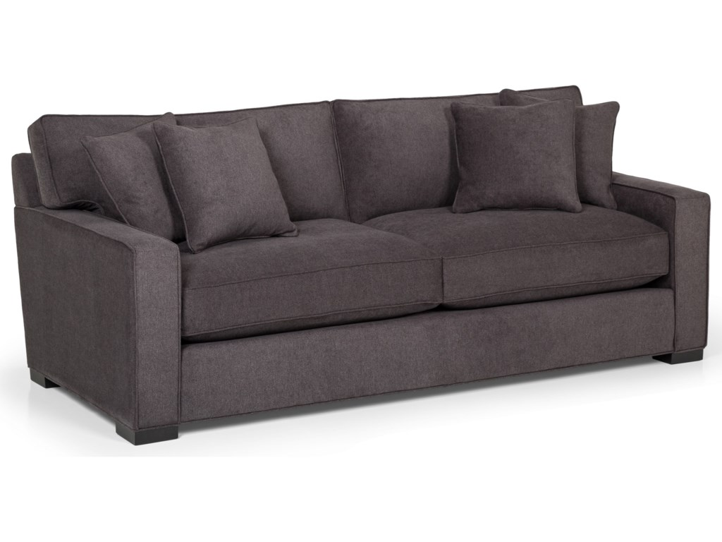 Sunset Home 340 Contemporary Queen Basic Sleeper Sofa with ...