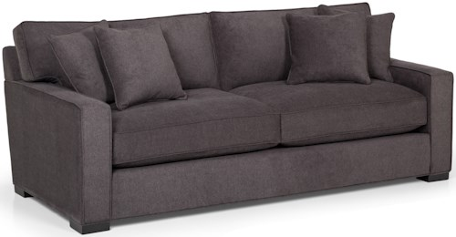 Stanton 340 Contemporary Queen  Basic Sleeper Sofa with Track Arms
