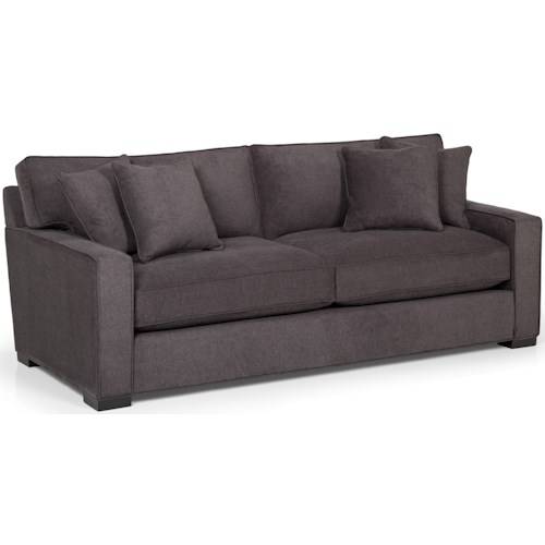 Stanton 340 Contemporary Sofa with Track Arms