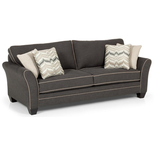 Stanton 362 Casual Sofa with Flared Arms
