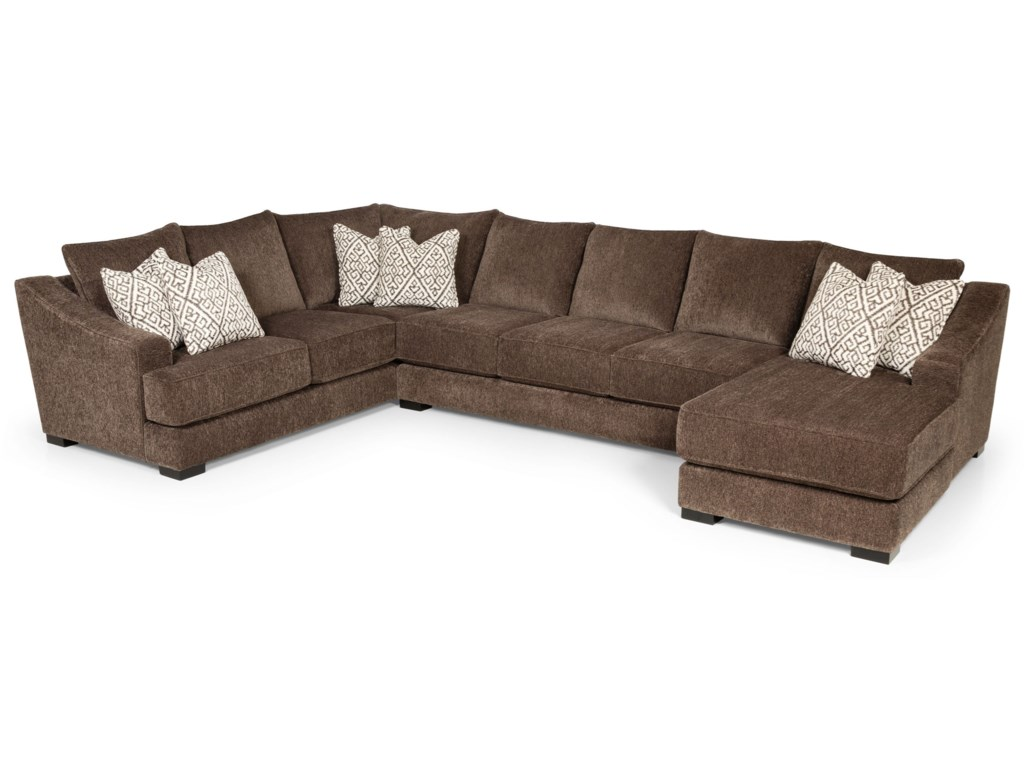 Sunset Home 48501Sectional Sofa