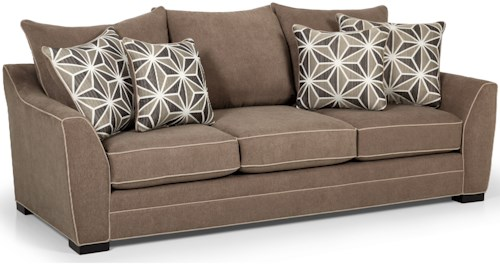 Stanton 378 Casual Sofa with Welt Cord Trim