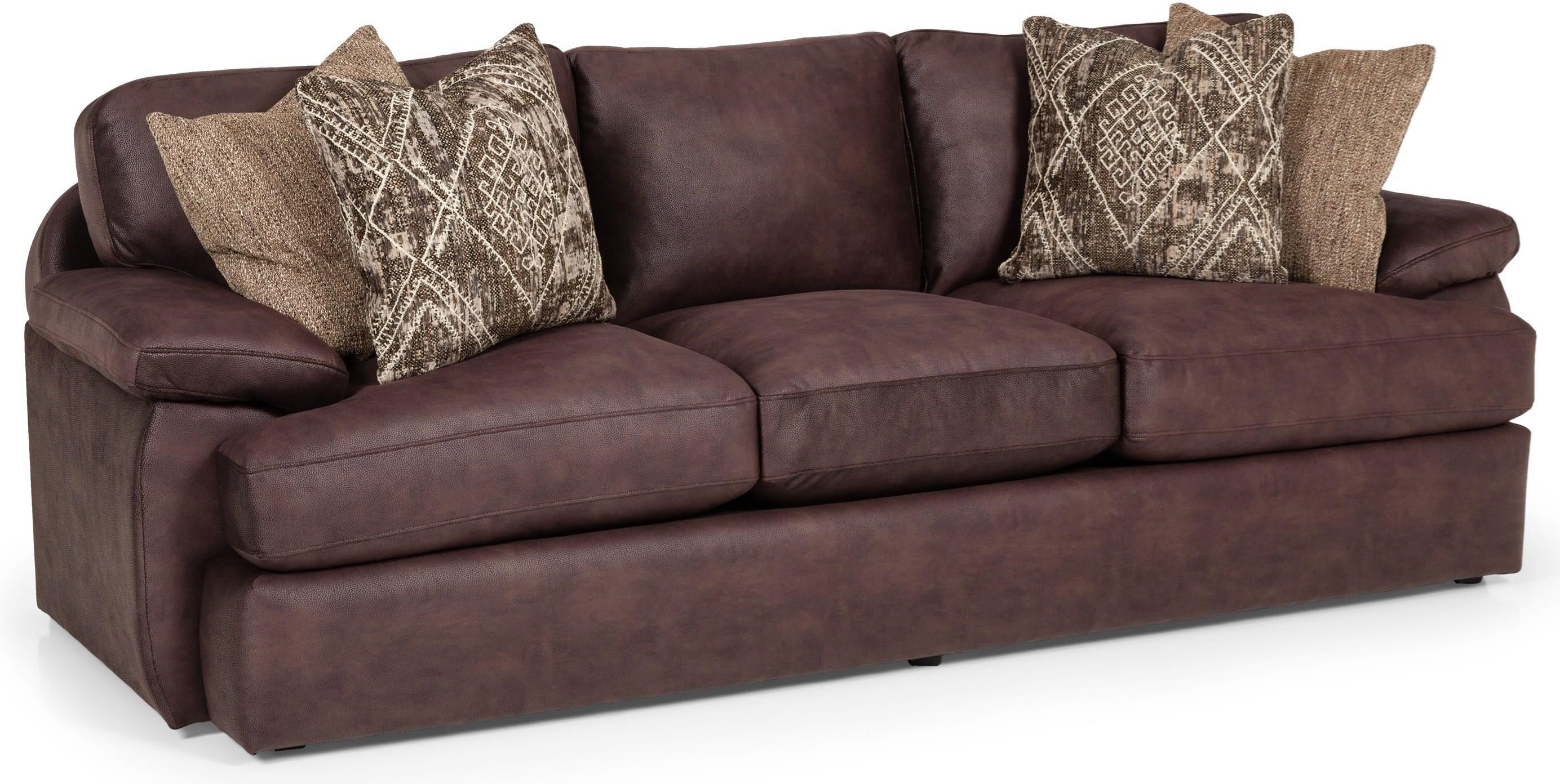 Stanton 386 Casual Sofa With Pillow Arms