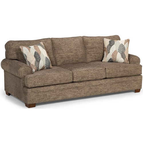 Stanton 422 Casual Sofa with Wide Rolled Arms