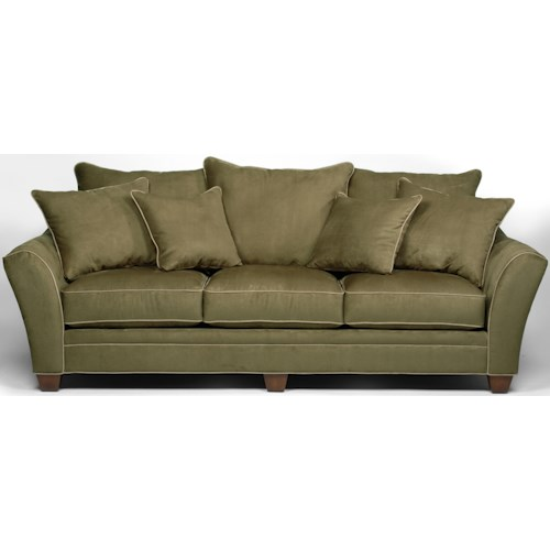 Stanton 456 Transitional Sofa with Scatter Pillow Back
