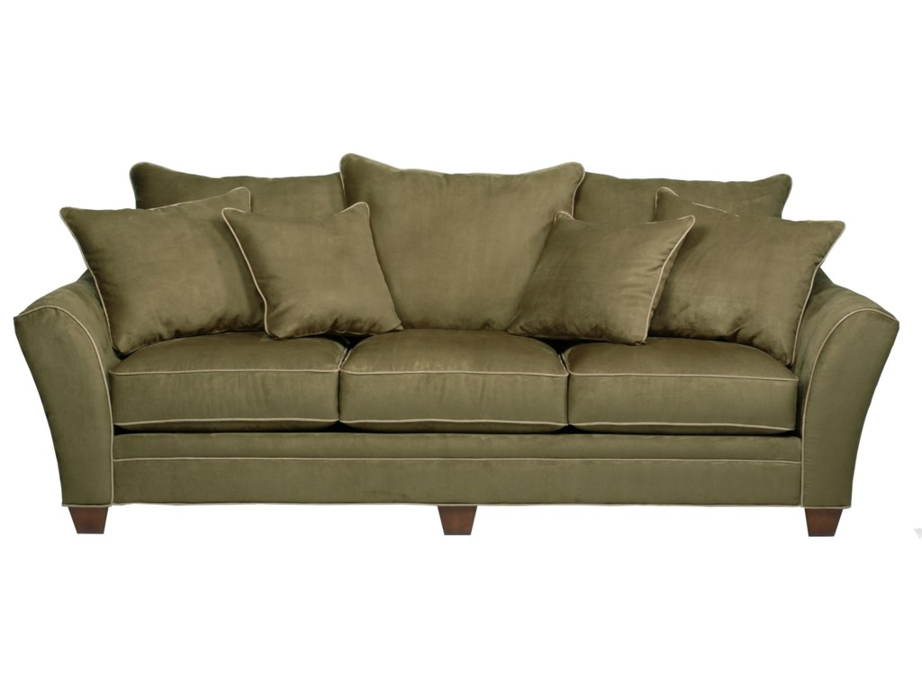 Sunset Home 4563-Seater Stationary Sofa
