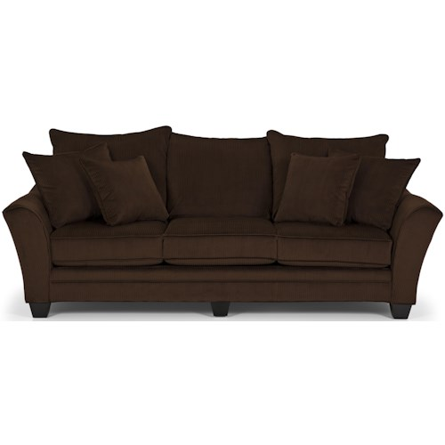 Stanton 456 Transitional Sofa With Ter Pillow Back