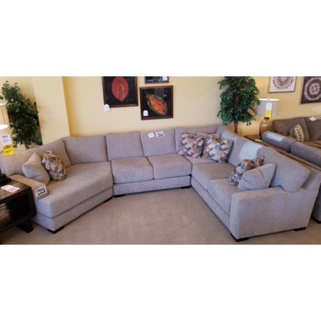 3 Piece Sectional with Cuddler
