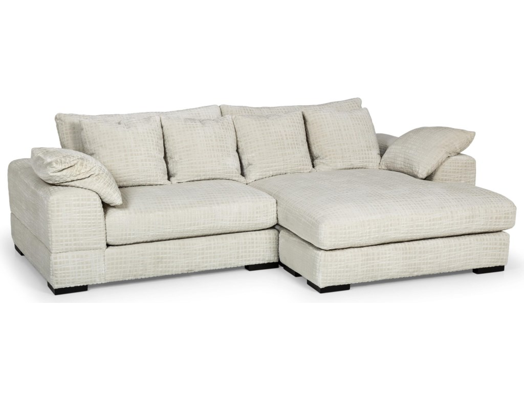 Stanton 480Two Piece Double Chaise Sectional Sofa