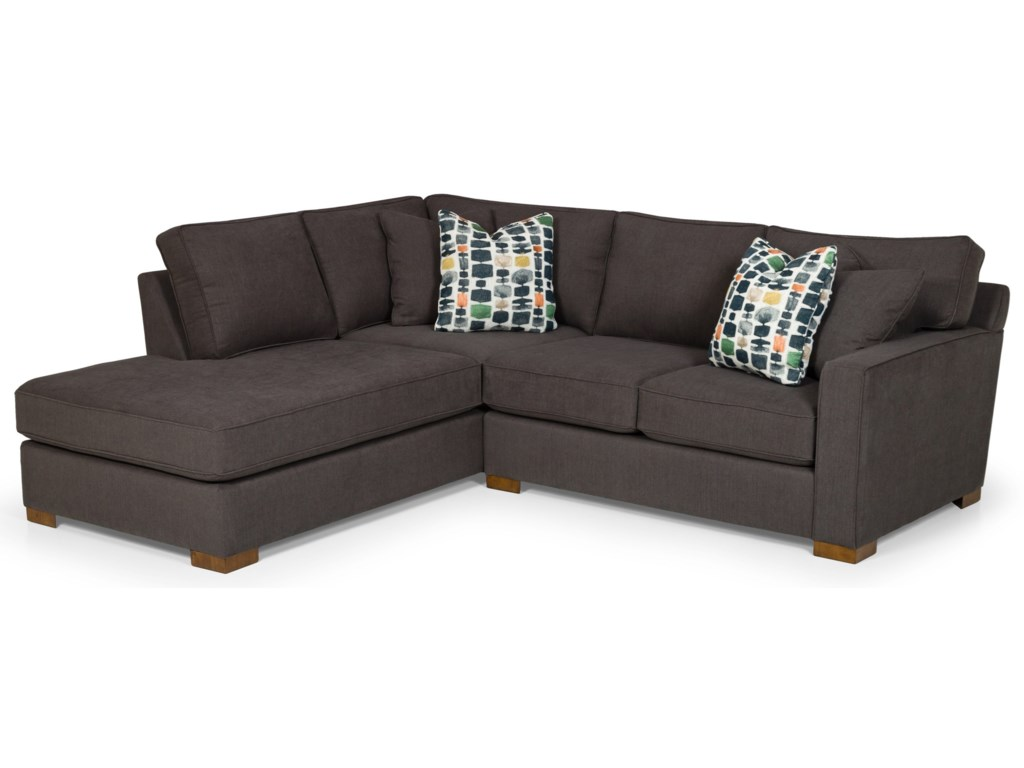 Sunset Home 4833-Seat Sectional Sofa w/ LAF Chaise