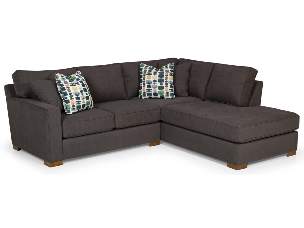 Stanton 483Two Piece Sectional in Peyton Pepper