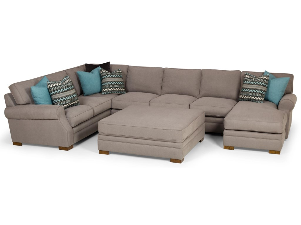 Stanton 525Three Piece Sectional with Chaise