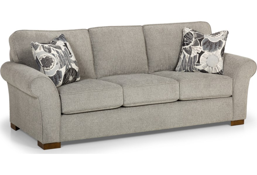 Stanton 551 Casual Sofa With Rolled And