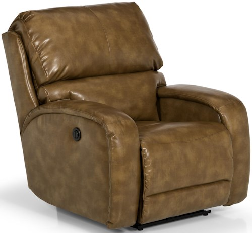 Stanton 804 Contemporary Glider Recliner with Track Arms