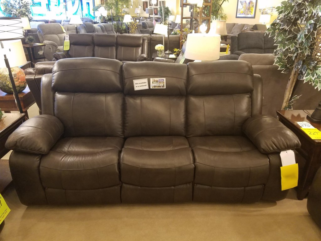 Stanton 853Dual Reclining Power Sofa w/ Pwr Head & Lumb