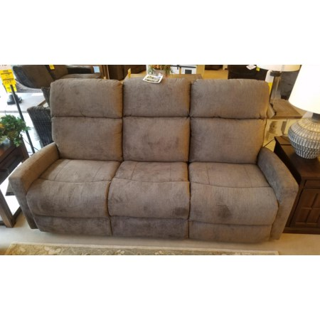 Dual Reclining Power Sofa w/ Pwr Head & Lumb