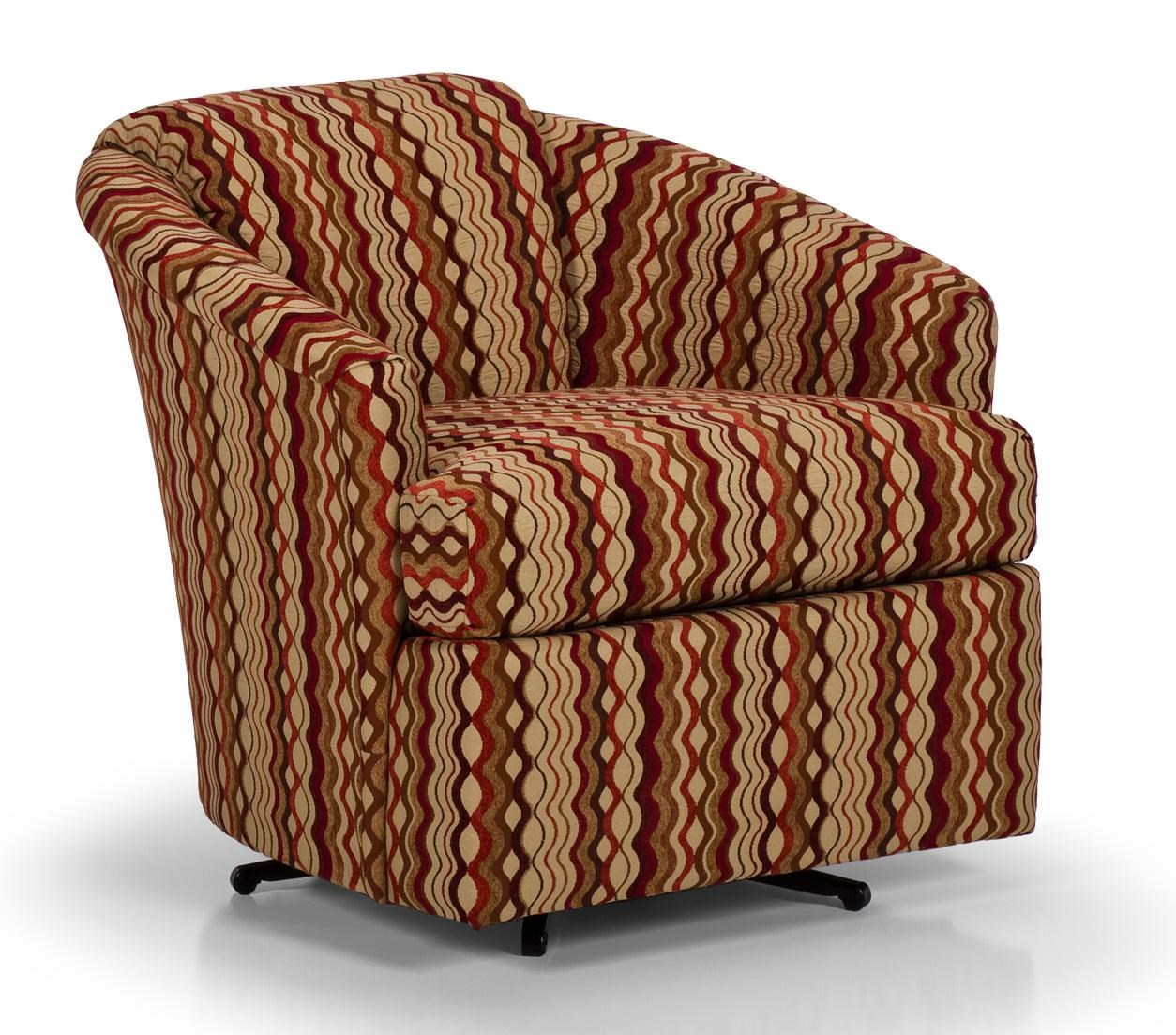 Stanton Accent Chairs And Ottomans Contemporary Swivel Chair