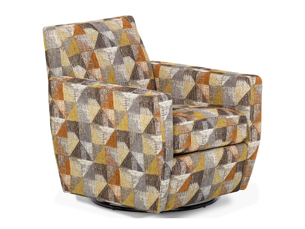 Sunset Home 29057Upholstered Swivel Chair