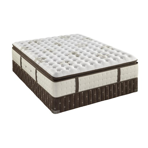Stearns & Foster C4 Luxury Firm Euro Pillow Top  Queen Firm Euro Pillow Top Mattress