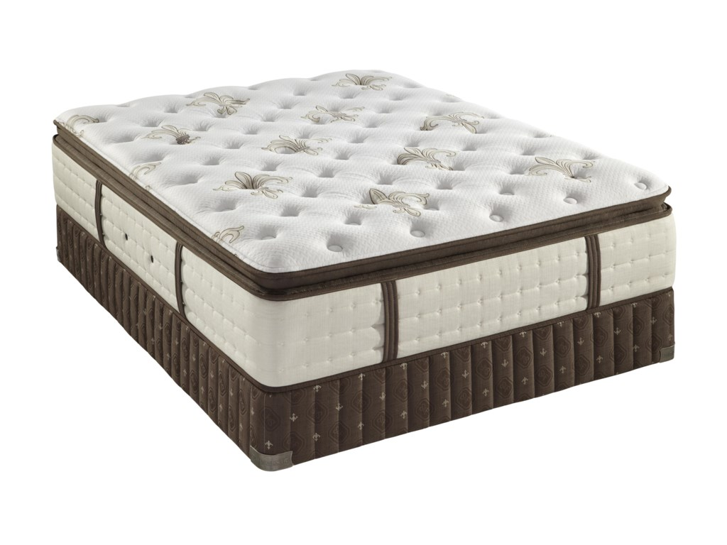 Stearns & Foster C6 Luxury Plush Euro Pillow Top Twin XL Plush Euro Pillow Top Mattress