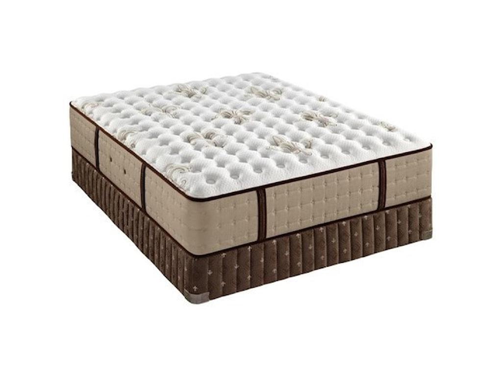 Stearns & Foster Nickeline Luxury Cushion FirmQueen Luxury Cushion Firm Mattress Set