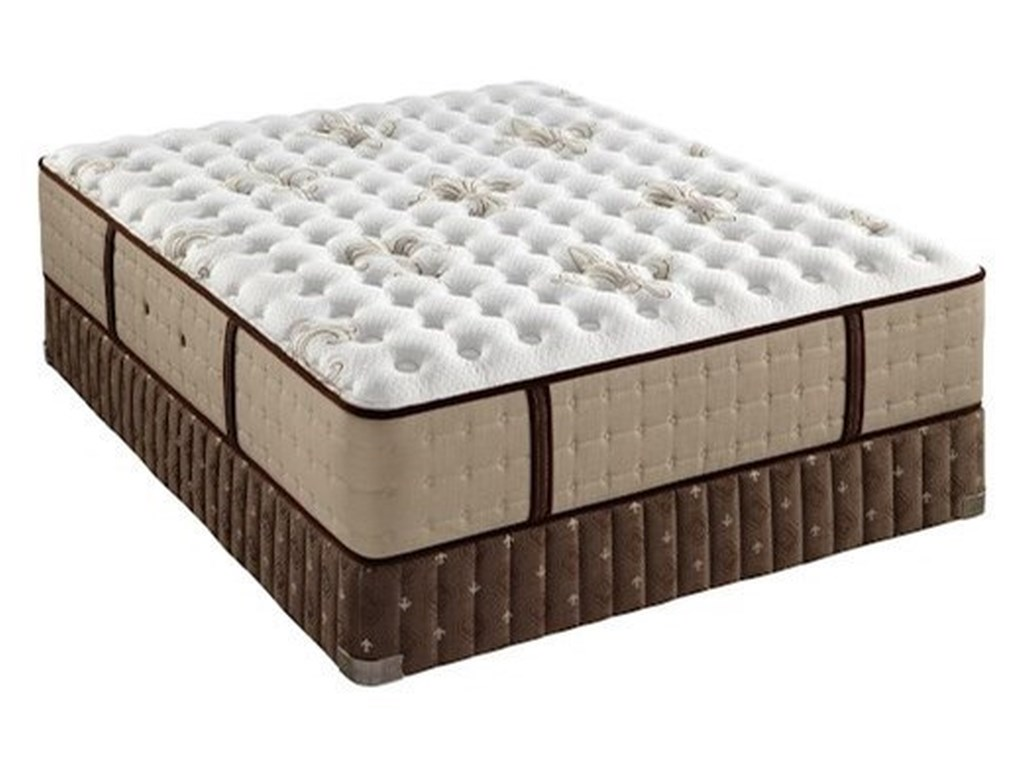 Stearns & Foster Nickeline Luxury Cushion FirmCal King Luxury Cushion Firm Mattress Set