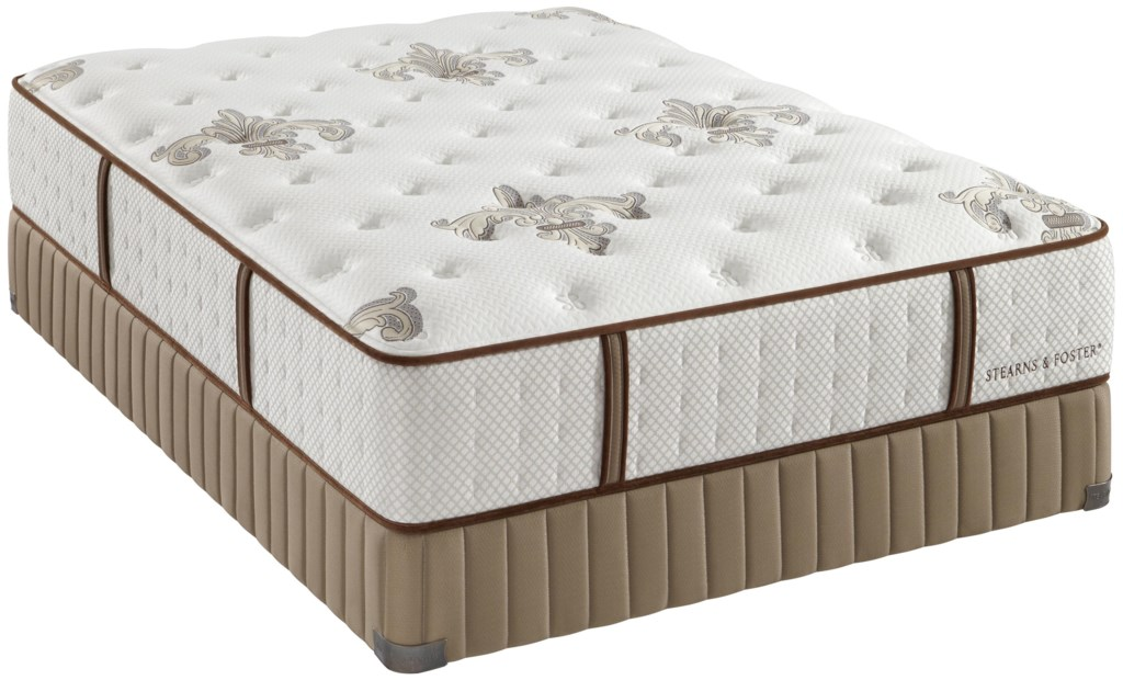 Stearns Foster Estate Gel 2013 Queen Luxury Firm Mattress Knight