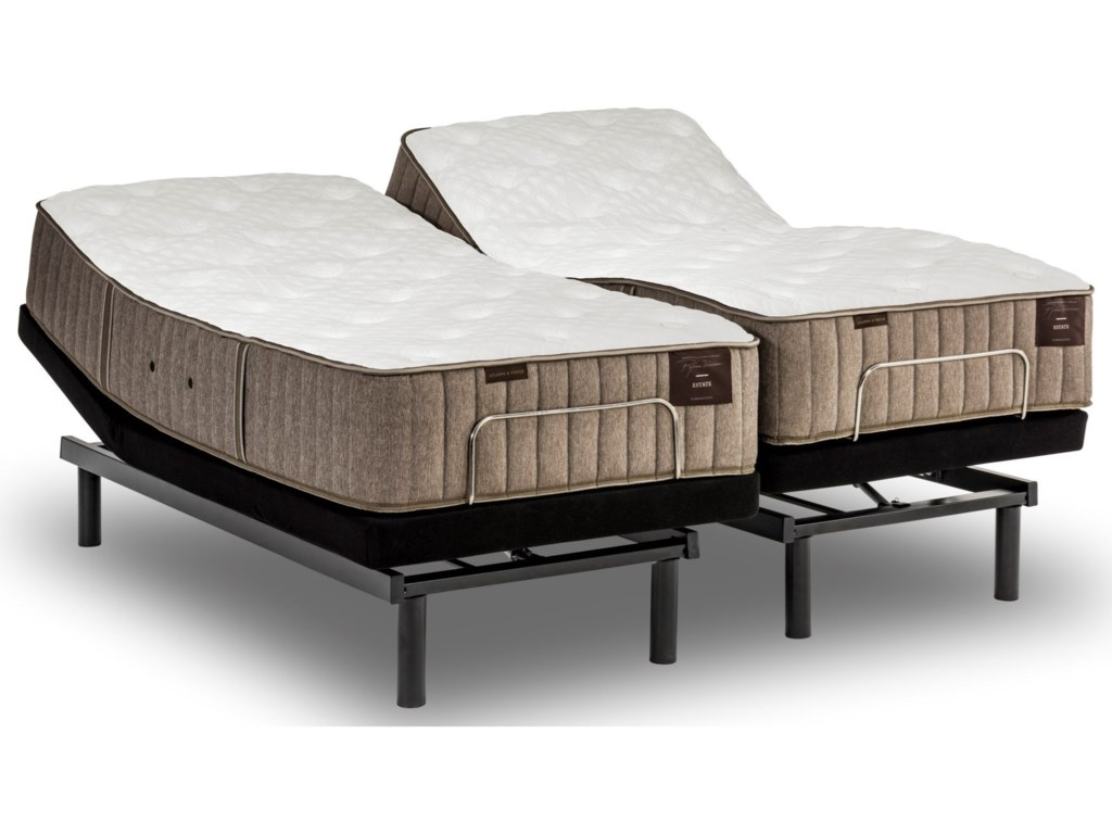 Stearns & Foster Oak Terrace IITwin XL Cushion Firm Adjustable Set