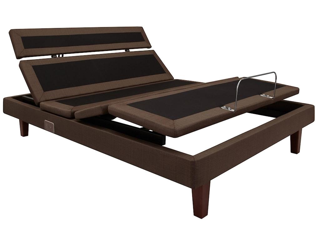 Stearns & Foster Oak Terrace IIICal King Plush Tight Top Adjustable Set