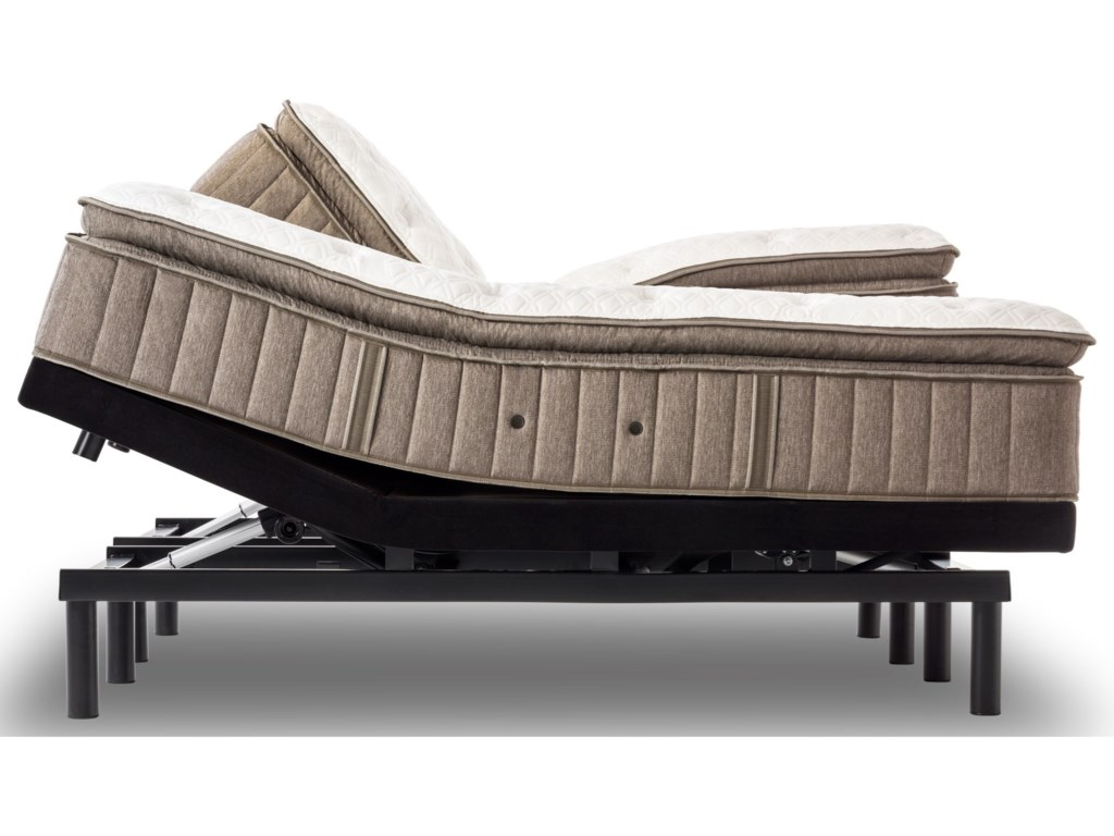 Stearns & Foster Bridle V Plush Euro Pillow TopFull Plush Euro PT Adjustable Set