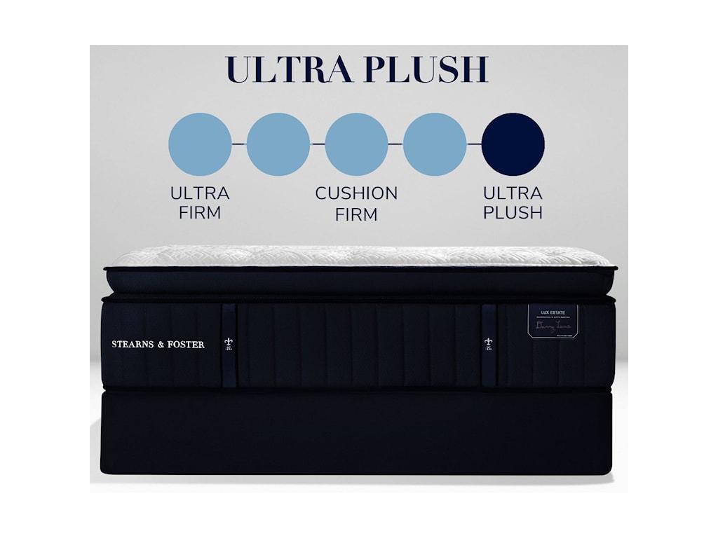 Stearns & Foster Cassatt LE2 Ultra Luxury Plush EPTKing 16