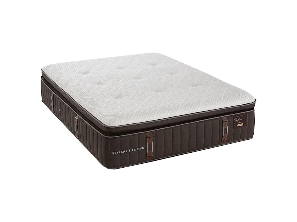 Stearns & Foster Queen Firm Euro Pillowtop Mattress