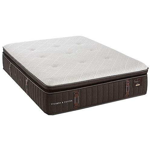Stearns & Foster Reserve 2 Queen Plush Euro Pillowtop Mattress