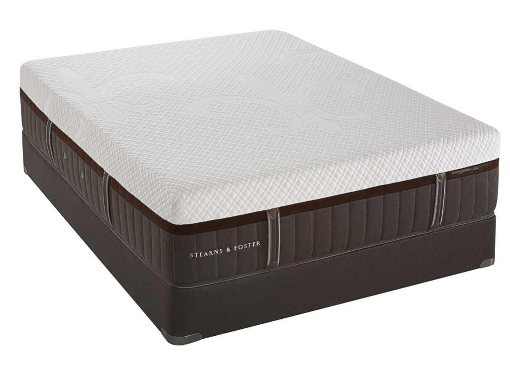 Stearns & Foster Topazolite Luxury Firm HybridQueen Firm Hybrid Mattress Set