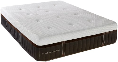Stearns & Foster Brooklet Queen Cushion Firm Hybrid Mattress