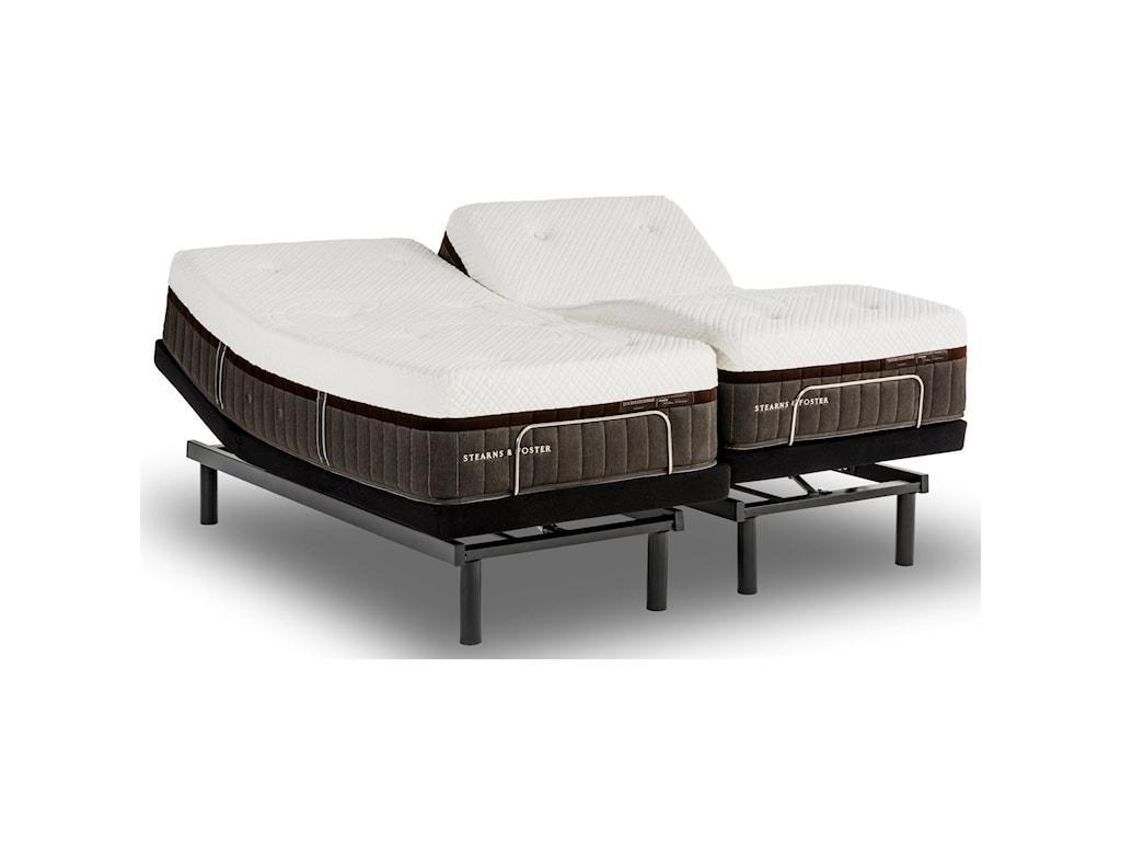 Stearns & Foster Leopard Stone Luxury Plush HybridHorizontal King Plush Hybrid Mattress Set