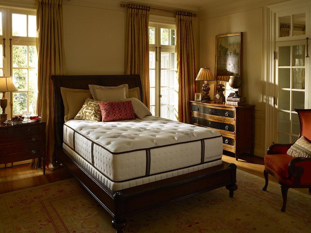 Stearns & Foster Estate 2012Cal King Luxury Plush Mattress Set
