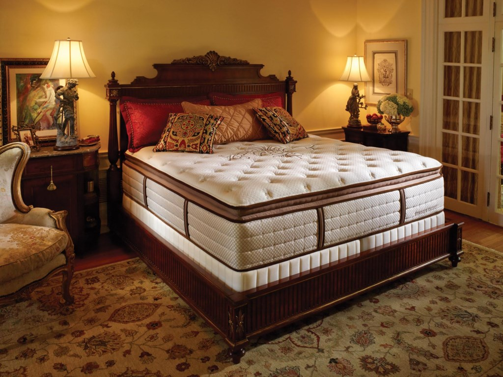 Stearns & Foster Lux Estate 2012King Luxury Plush EPT Mattress Set