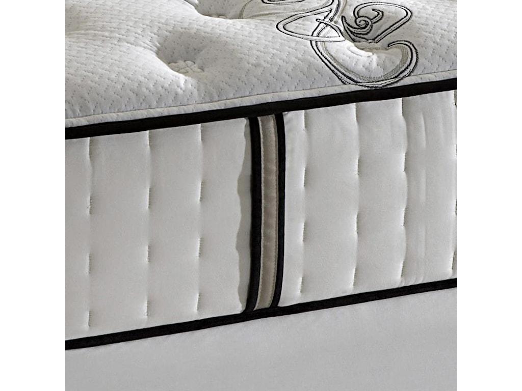 Stearns & Foster Luxury Latex Tuscan Summer VillaQueen Ultra Plush Mattress Set