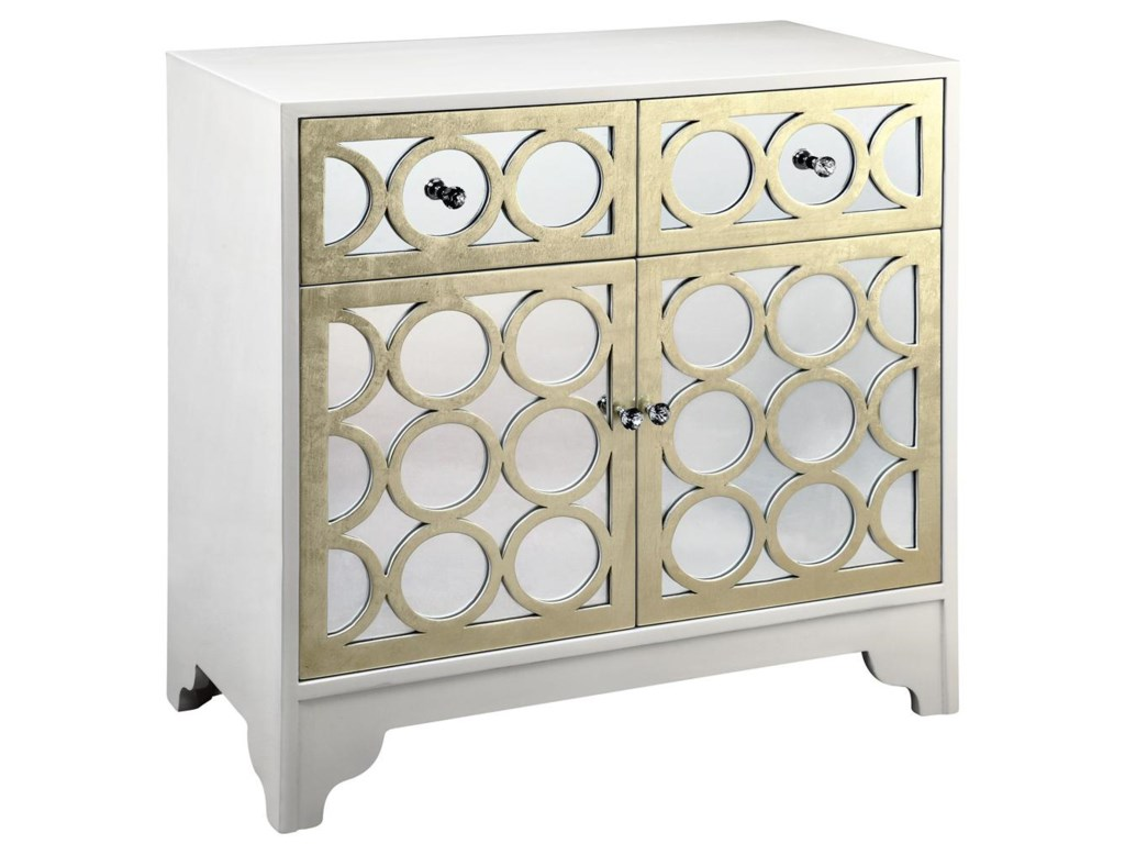 Morris Home 12551Mirrored Table Cabinet