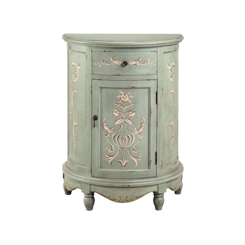 Stein World Accent Tables Painted Lucille End Table