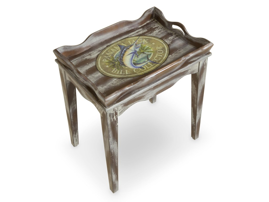 Morris Home Accent TablesHigh Tide Tray Table