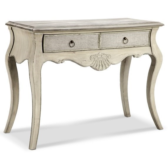 Morris Home Accent TablesMarsh Carved/Curved Leg Console Table ...