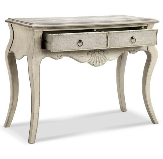 Morris Home Accent TablesMarsh Carved/Curved Leg Console Table