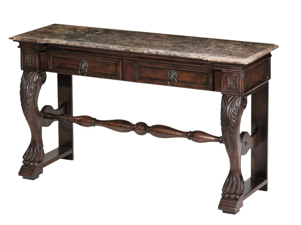 Morris Home Accent TablesCarved Console