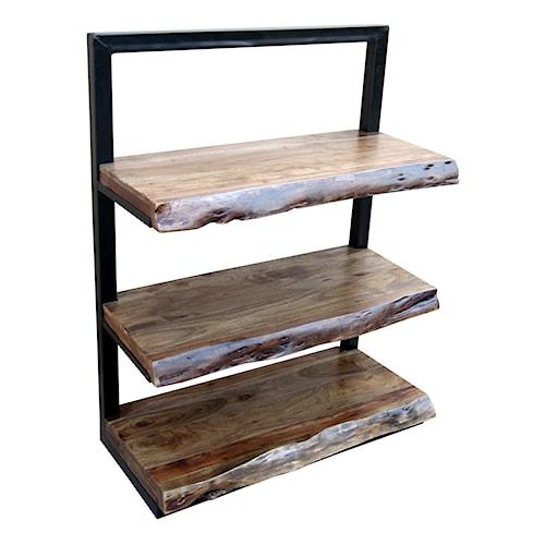 Stein World Bookcases Climber 3-Shelf Floating Bookcase