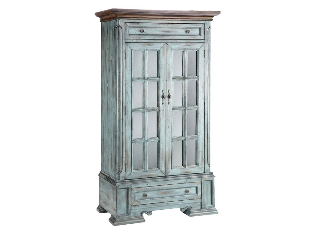 Stein World Cabinets Tall Cabinet With 2 Doors And 2 Drawers And 3
