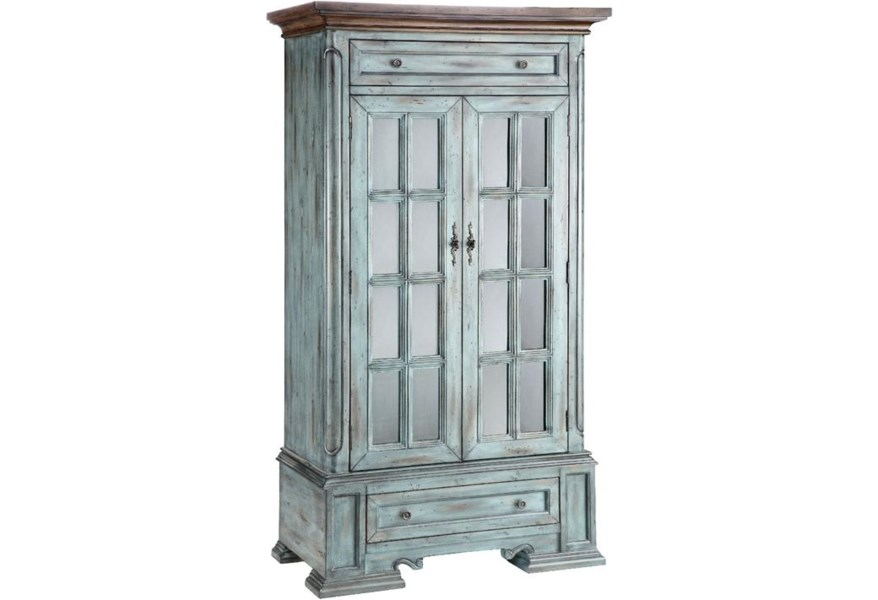 Stein World Cabinets 000007269220 Tall Cabinet With 2 Doors And 2 Drawers And 3 Shelves Miller Home Occasional Cabinet