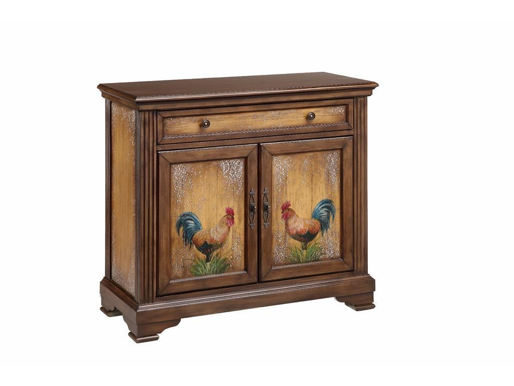 Stein World Cabinets Rooster Pattern Cabinet