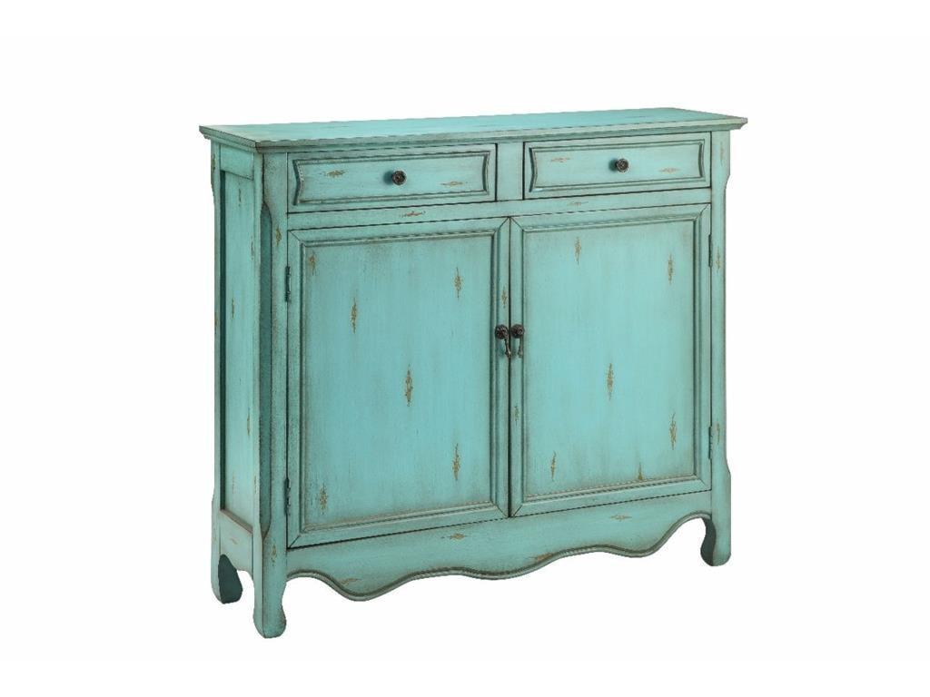 Stein World Cabinets Cupboard  Drawer In Antique Blue